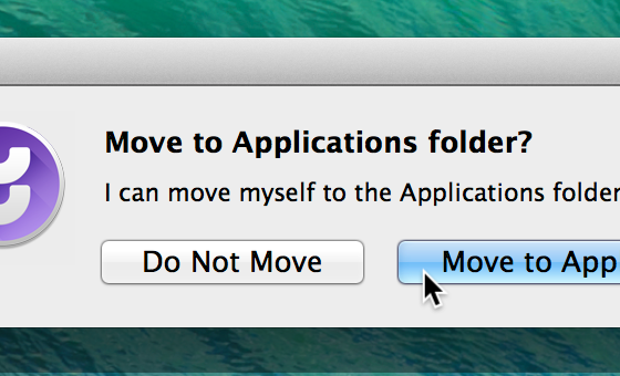 Moving to applications
